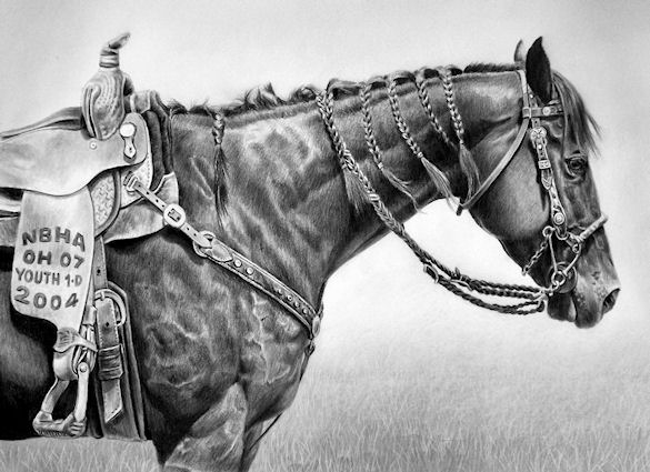 Equine art by maria d angelo tried and true
