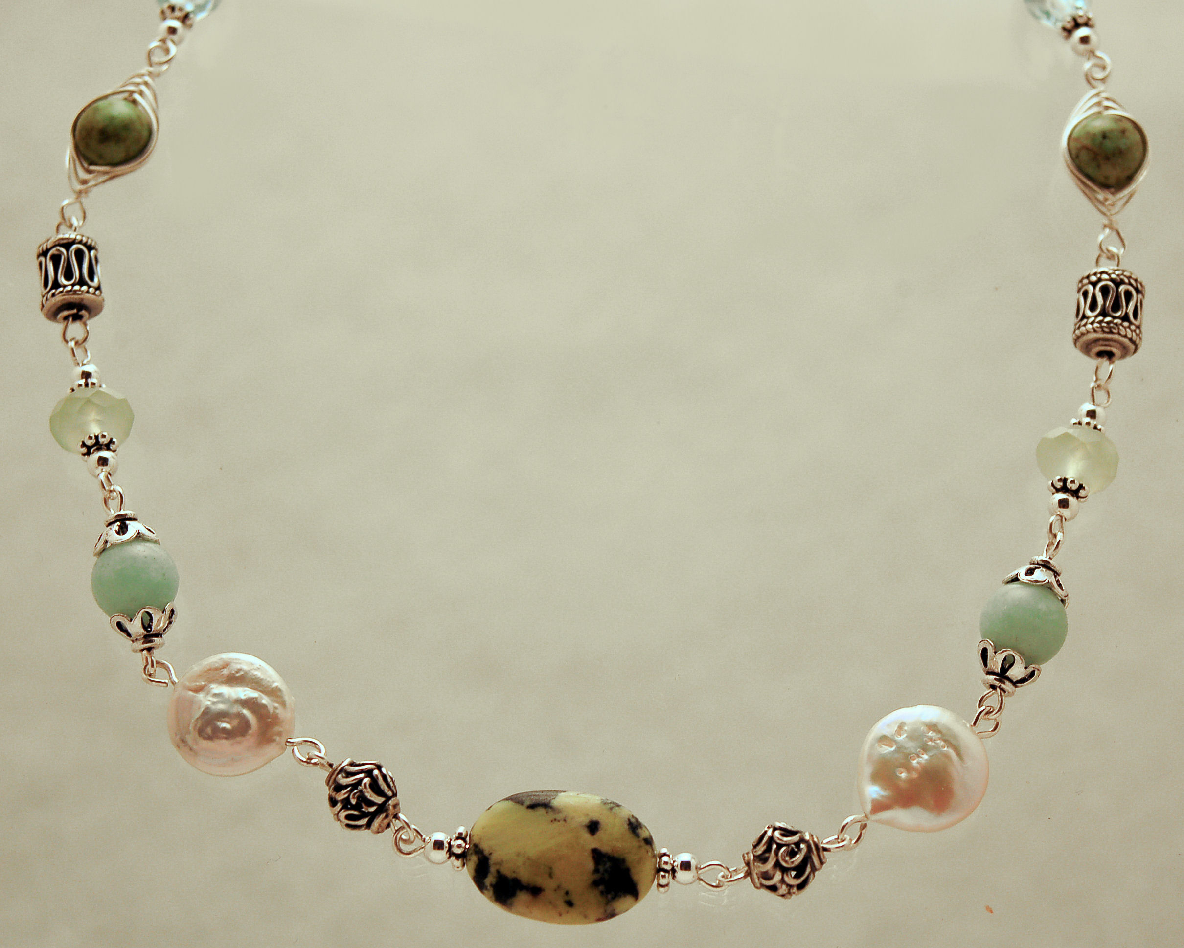necklace scott form on bead chinese frog love prince jade tag
